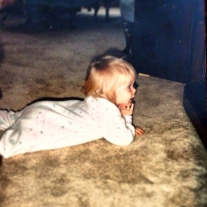 Yes, this is me, and yes, this is shameless self promotion of how cute I once was.But no, this does not count as quality time.  You do get extra points for incorporating onesies, though.
