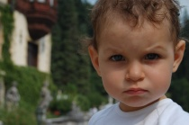 angry toddler
